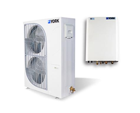 約克超低溫全變頻熱泵機組YVAS