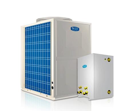 超低溫強熱型循環加熱空氣源熱泵熱水機(分體機)KFXRS-38ⅡB/2-a(F)